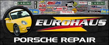 EuroHaus Porsche RepairPorsche Oil Service and Brake Fluid Flush